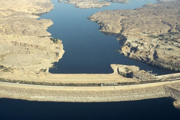 Aswan Dam and the Nile River